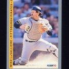 1993 Fleer Baseball #114 Mike LaValliere - Pittsburgh Pirates