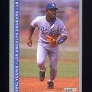 1993 Fleer Baseball #069 Eric Young - Los Angeles Dodgers