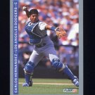 1993 Fleer Baseball #062 Carlos Hernandez - Los Angeles Dodgers