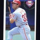 1994 Fleer Baseball #581 Ruben Amaro - Philadelphia Phillies