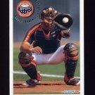 1994 Fleer Baseball #501 Eddie Taubensee - Houston Astros