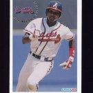 1994 Fleer Baseball #369 Otis Nixon - Atlanta Braves
