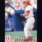 1995 Pacific Baseball #407 Gregg Jefferies - St. Louis Cardinals