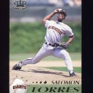 1995 Pacific Baseball #385 Salomon Torres - San Francisco Giants