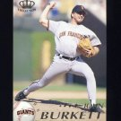 1995 Pacific Baseball #374 John Burkett - San Francisco Giants