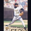 1995 Pacific Baseball #350 Alejandro Pena - Pittsburgh Pirates