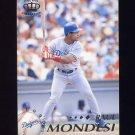 1995 Pacific Baseball #222 Raul Mondesi - Los Angeles Dodgers