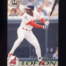 1995 Pacific Baseball #122 Kenny Lofton - Cleveland Indians