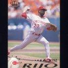 1995 Pacific Baseball #111 Jose Rijo - Cincinnati Reds