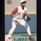 1995 Pacific Baseball #105 Willie Greene - Cincinnati Reds