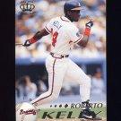 1995 Pacific Baseball #007 Roberto Kelly - Atlanta Braves