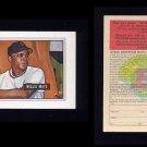 1989 Bowman Baseball Reprint Inserts #07 Willie Mays 51 - New York Giants Ex