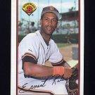 1989 Bowman Baseball #475 Ernie Riles - San Francisco Giants