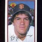 1989 Bowman Baseball #469 Kirt Manwaring - San Francisco Giants