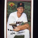1989 Bowman Baseball #465 Kelly Downs - San Francisco Giants ExMt