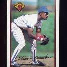 1989 Bowman Baseball #294 Shawon Dunston - Chicago Cubs