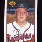 1989 Bowman Baseball #264 Derek Lilliquist RC - Atlanta Braves