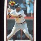 1989 Bowman Baseball #106 Chris Brown - Detroit Tigers