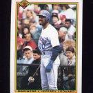 1990 Bowman Baseball #472 Jeffrey Leonard - Seattle Mariners