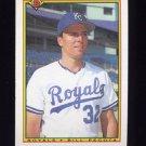 1990 Bowman Baseball #377 Bill Pecota - Kansas City Royals