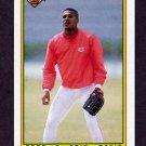 1990 Bowman Baseball #058 Eric Davis - Cincinnati Reds