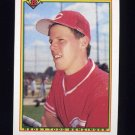 1990 Bowman Baseball #055 Todd Benzinger - Cincinnati Reds