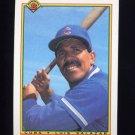 1990 Bowman Baseball #040 Luis Salazar - Chicago Cubs