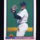 1991 Bowman Baseball #663 Rafael Valdez - San Diego Padres