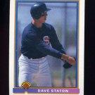 1991 Bowman Baseball #645 Dave Staton RC - San Diego Padres