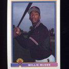 1991 Bowman Baseball #640 Willie McGee - San Francisco Giants