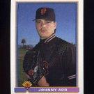 1991 Bowman Baseball #634 Johnny Ard - San Francisco Giants