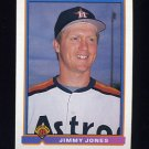 1991 Bowman Baseball #553 Jimmy Jones - Houston Astros