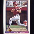 1991 Bowman Baseball #495 Randy Ready - Philadelphia Phillies