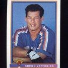 1991 Bowman Baseball #481 Gregg Jefferies - New York Mets