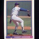 1991 Bowman Baseball #412 Danny Jackson - Chicago Cubs
