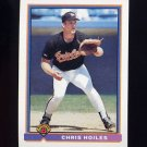 1991 Bowman Baseball #099 Chris Hoiles - Baltimore Orioles