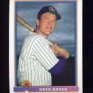 1991 Bowman Baseball #041 Greg Brock - Milwaukee Brewers