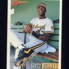 1993 Bowman Baseball #402 Scott Bullett - Pittsburgh Pirates