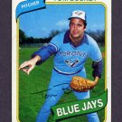 1980 Topps Baseball #506 Tom Buskey - Toronto Blue Jays