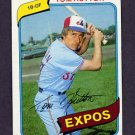 1980 Topps Baseball #427 Tom Hutton - Montreal Expos