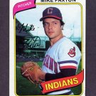 1980 Topps Baseball #388 Mike Paxton - Cleveland Indians