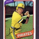 1980 Topps Baseball #383 Ed Ott - Pittsburgh Pirates Ex