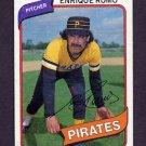 1980 Topps Baseball #332 Enrique Romo - Pittsburgh Pirates ExMt