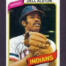 1980 Topps Baseball #198 Dell Alston - Cleveland Indians