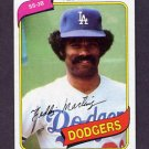 1980 Topps Baseball #191 Ted Martinez - Los Angeles Dodgers