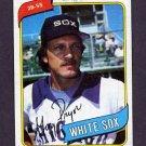 1980 Topps Baseball #164 Greg Pryor - Chicago White Sox