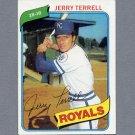 1980 Topps Baseball #098 Jerry Terrell - Kansas City Royals