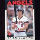 1986 Topps Baseball #772 Brian Downing - California Angels