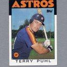 1986 Topps Baseball #763 Terry Puhl - Houston Astros Ex