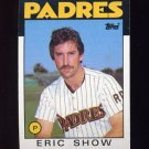 1986 Topps Baseball #762 Eric Show - San Diego Padres